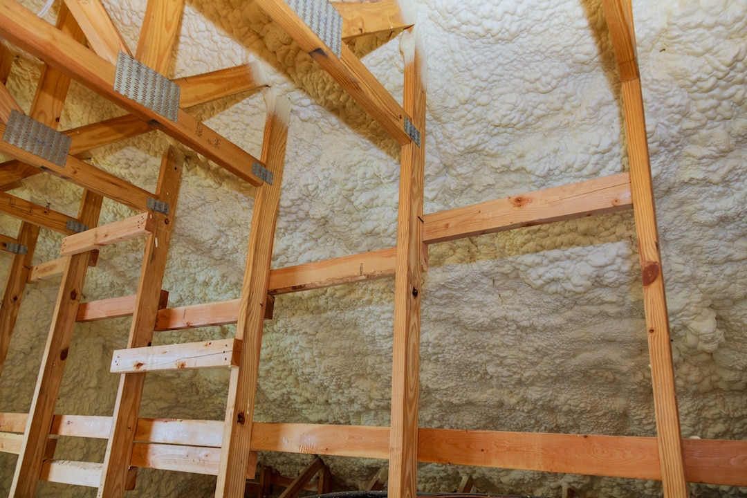 Spray Foam Insulation Attic Installation Austin Texas
