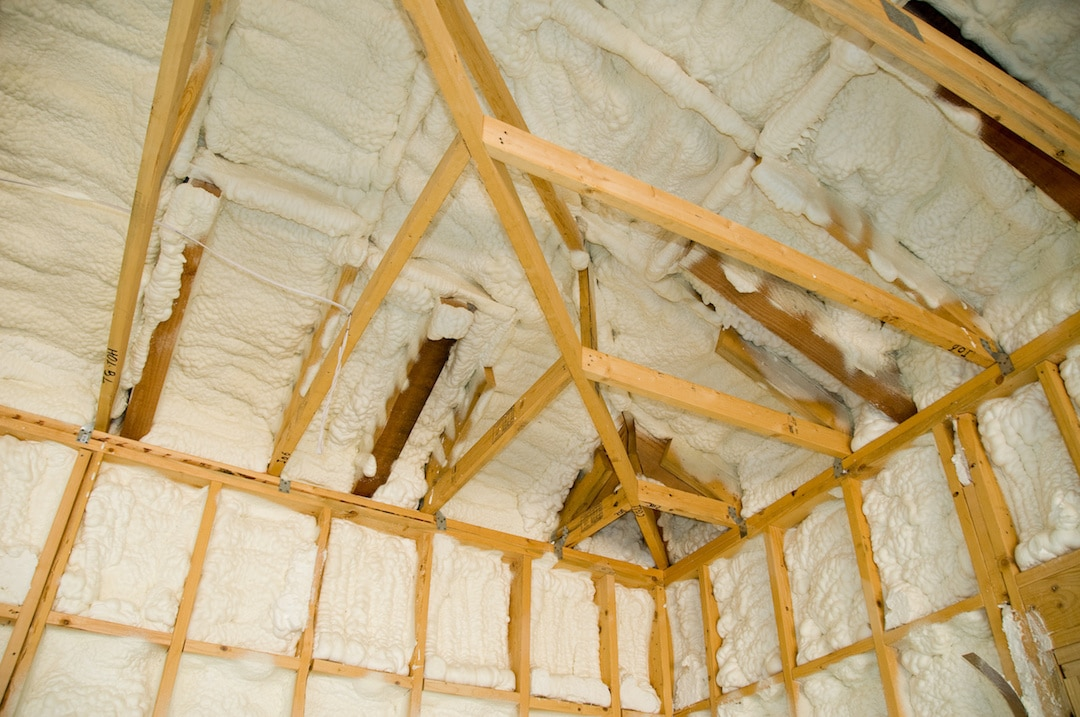 Spray Foam Insulation Attic Installation Austin Tx