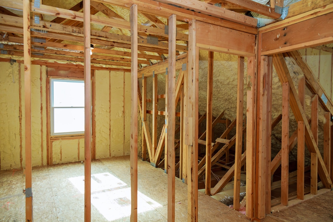 Spray Foam Insulation Attic Installation Austin