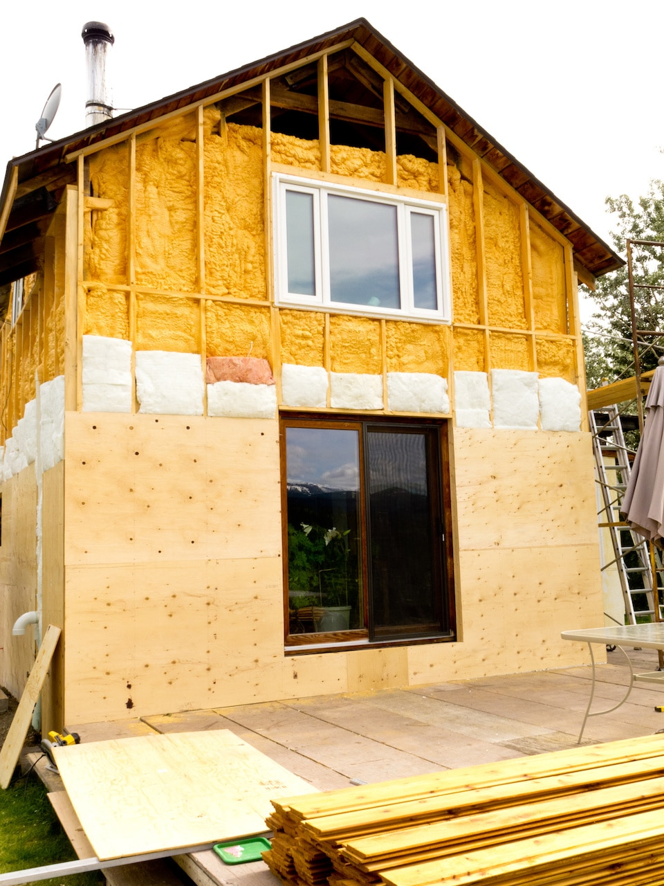Spray Foam Insulation Austin Existing Home