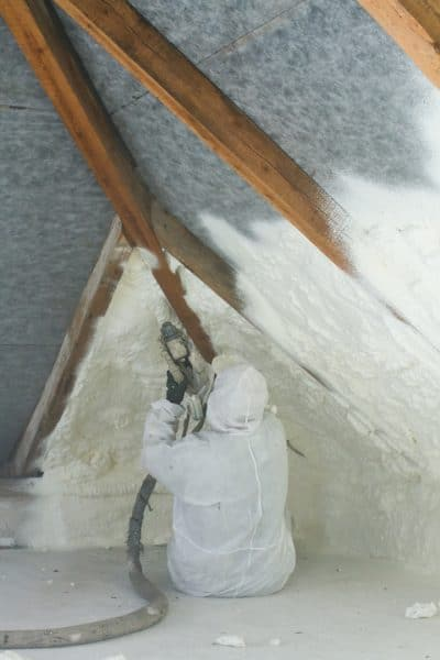 Spray Foam Insulation Install Contractors Austin