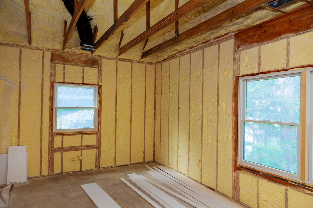 Spray Foam Insulation New Installation Austin Tx