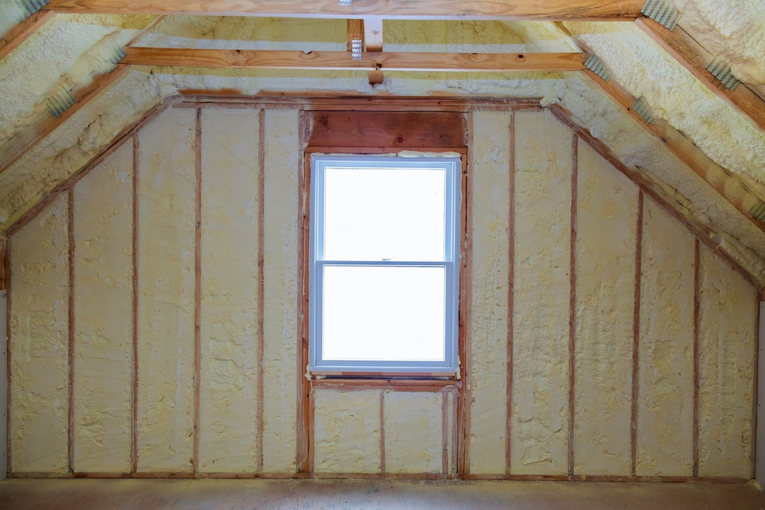 Spray Foam Insulation New Installation Austin