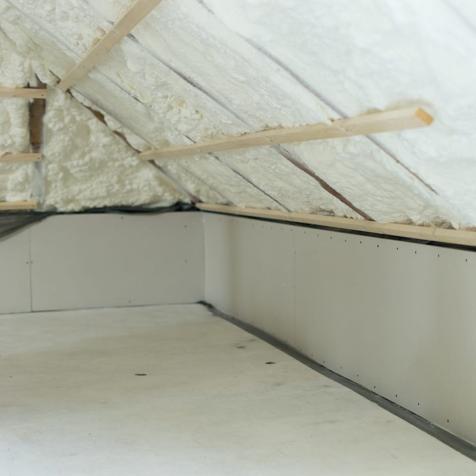Newly Installed Attic Insulation Austin TX