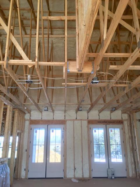 New Construction Installation Foam Insulation Austin