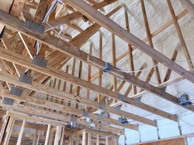 New Construction Installed Foam Insulation Austin Texas