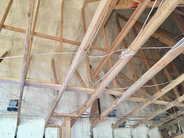 New Construction Installed Foam Insulation Austin